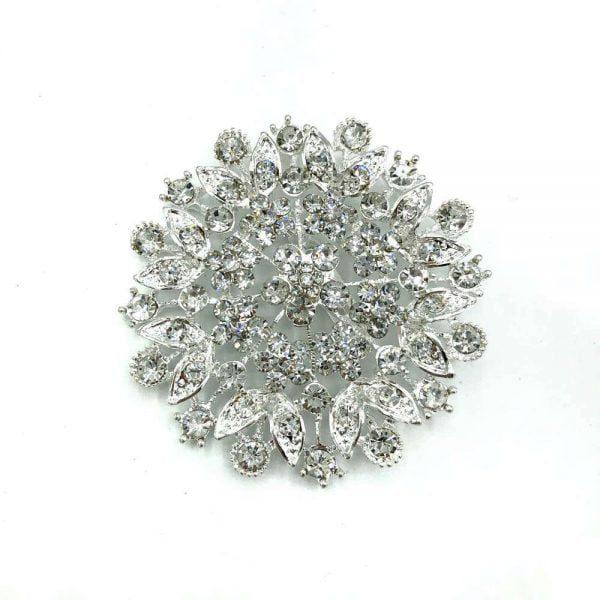 brosa fulg de nea cu cristale cubic zirconia