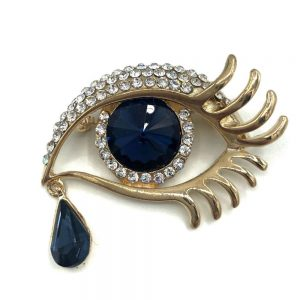 brosa ochi albastru stilizat daria