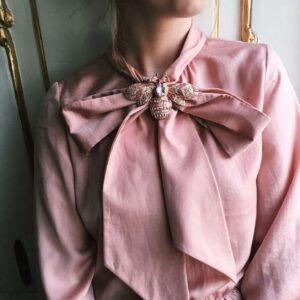 brosa albina roz