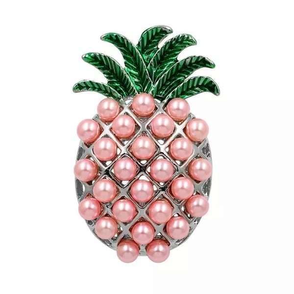 brosa ananas roz