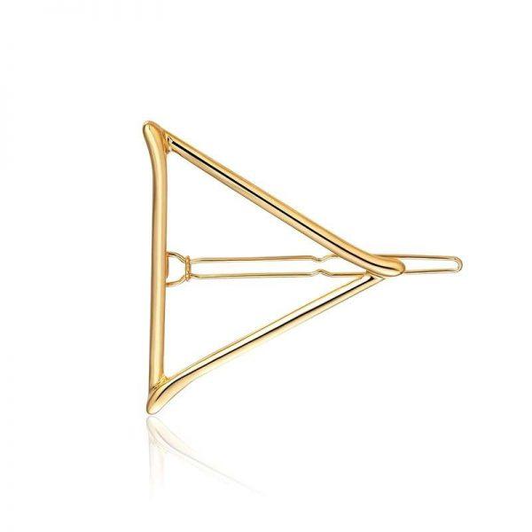 agrafa par aurie triunghi
