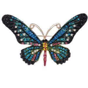 brosa fluture de culoare albastru