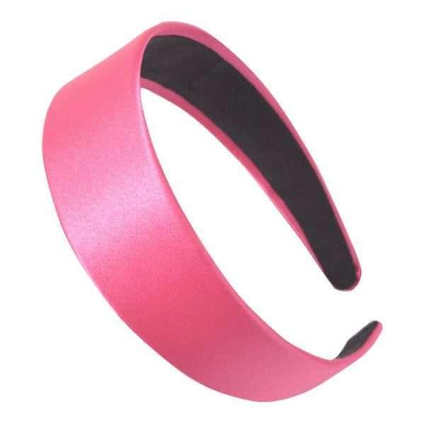 cordeluta din satin de culoare roz
