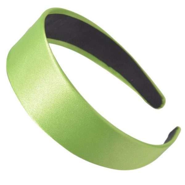 cordeluta par satin verde