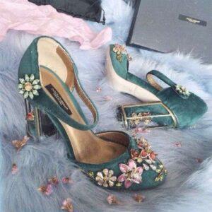 brose pe pantofi