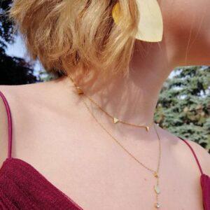 bijuterii mosselle placate cu aur