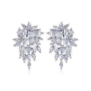 cercei dama eleganti cu cristale