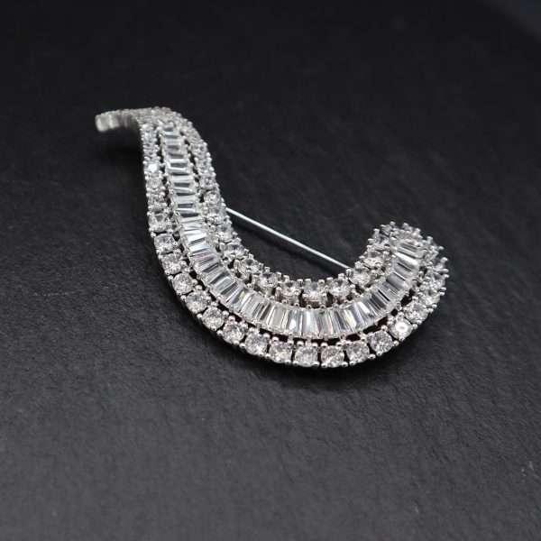 brosa eleganta cristale MOSSEELLE