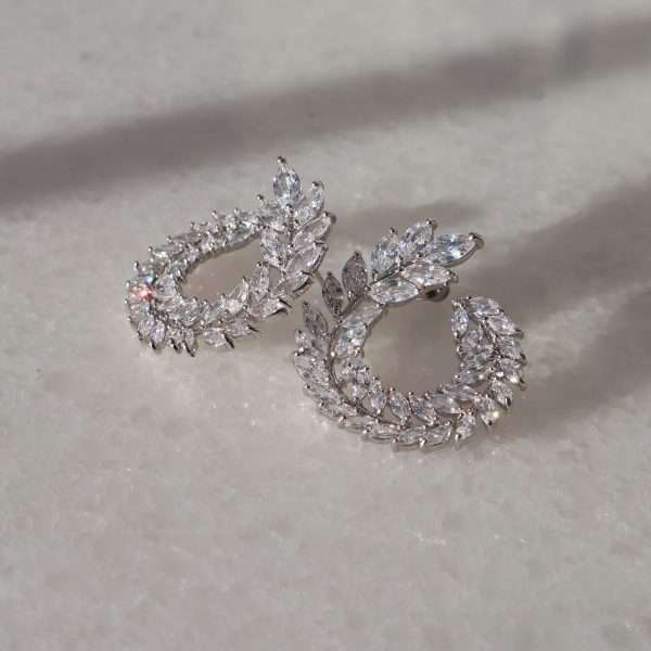 cercei eleganti cristale Soraya