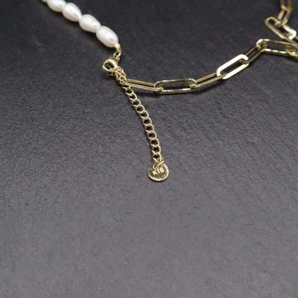 colier cu perle naturale MOSSELLE
