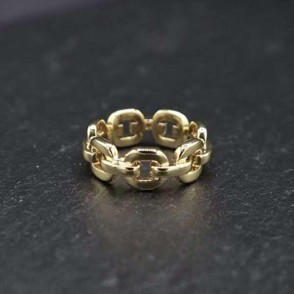 inel auriu placat cu aur 18K MOSSELLE